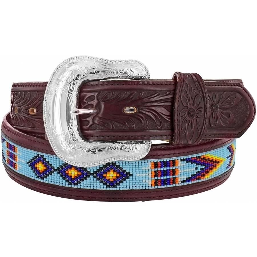Leegin Men's  Chimayo Bead Belt C13615
