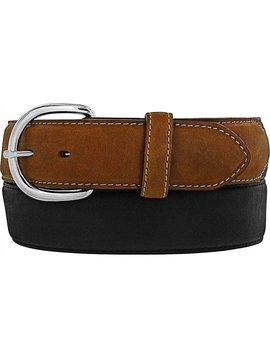Leegin Men's Black/Brown Classic Western Belt 53700