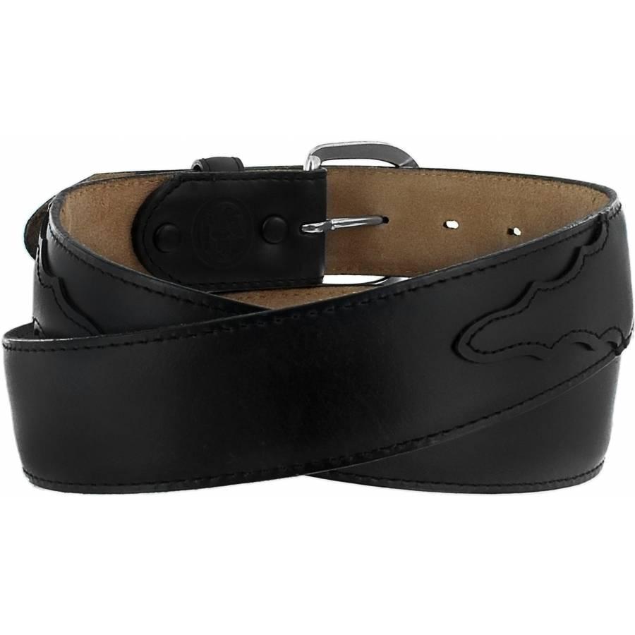 Leegin Men's Black Oil Classic Western Belt 53713