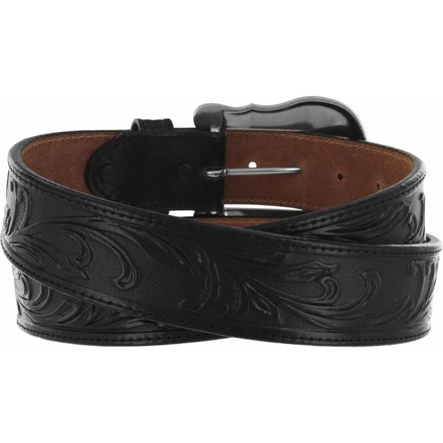 Leegin Men's Black Westerly Ride Belt C41513