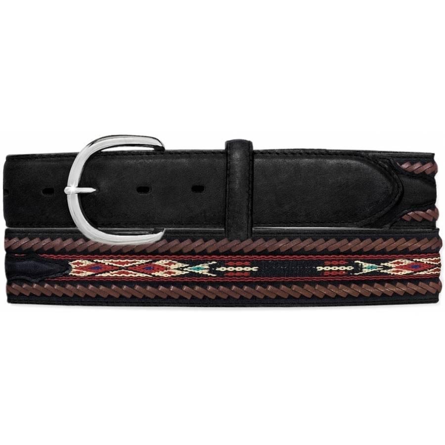 Leegin Men's Lace Edge Ribbon Belt 5A103