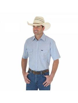 Wrangler Men's Chambray Short Sleeve Shirt 70131MW