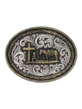 Montana Silversmith Christian Cowboy Buckle A543
