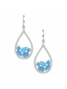 Montana Silversmith Opal Drop Earrings ER3392