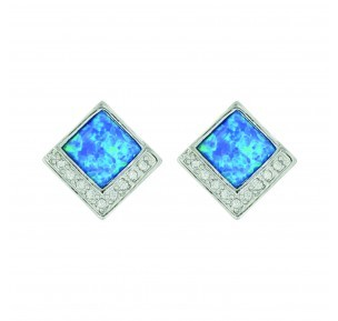 Montana Silversmith Opal Diamond Earrings Er3643