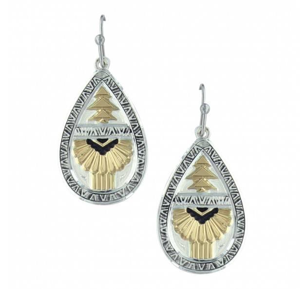 Montana Silversmith Aztec Earrings ER3368
