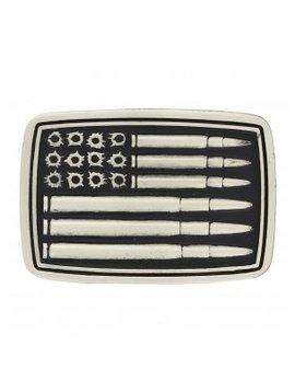 Montana Silversmith A709P Montana Silver Bullet Flag Buckle