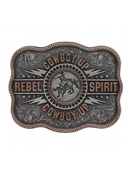 Montana Silversmith A561 Montana Cowboy-Up Rebel Spirit Buckle
