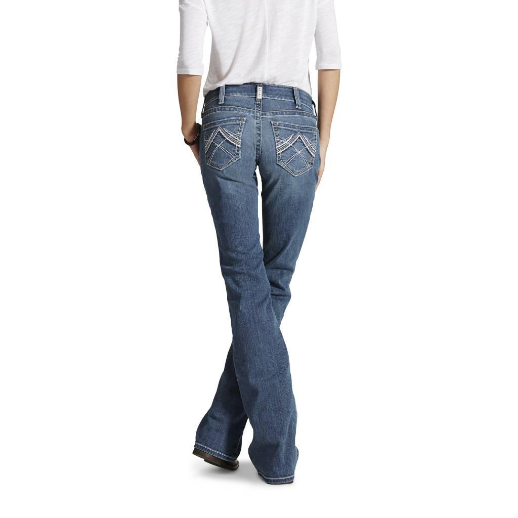 Ariat Ladies R.E.A.L Boot Cut Jean 10016202