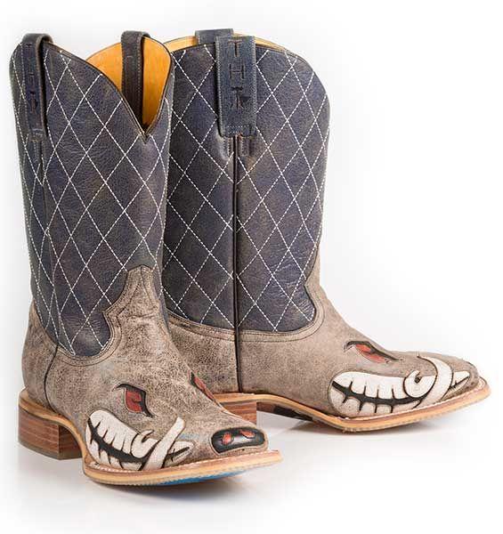 "Tin Haul 14-020-0007-0202BR  Men's ""Not Boaring"" Boot"
