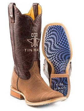 "Tin Haul 14-020-0007-0351BR  Men's ""Rough Hewn"" Boot"
