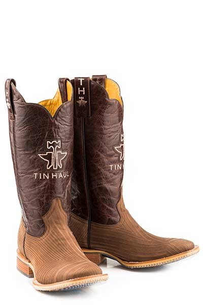 "Tin Haul 14-020-0007-0351BR  Men's ""Rough Hewn"" Boot"