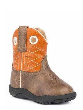 "Roper 09-016-1224-2202BR  Infant ""Boone"" Cowbabies Boot"