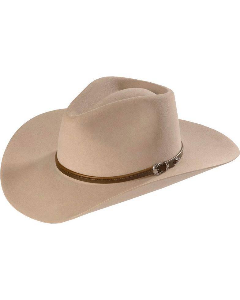 Stetson Hat Seneca 4X Silver Sand SBSNCA-413498