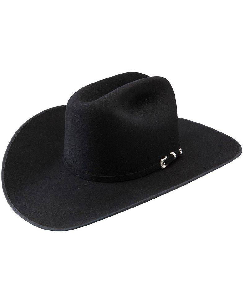 Stetson Hat Lariat 5X Black SFLRAT-754007