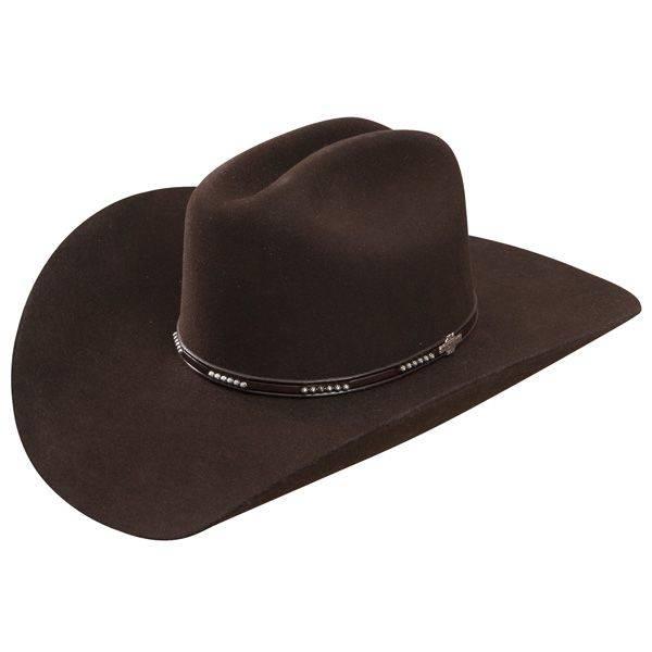Stetson Hat Llano 4X Wool Black SWLLNO-724207