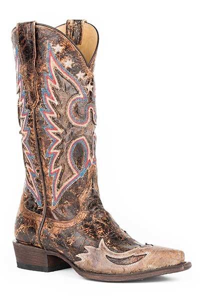 "Stetson Boot ""Reagan""  12-021-6105-1007BR"