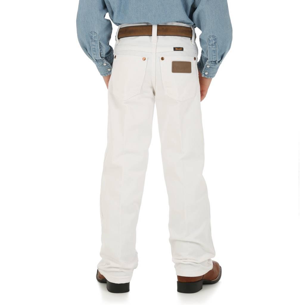 Wrangler Kids  White Jeans 8-16 13MWBWI