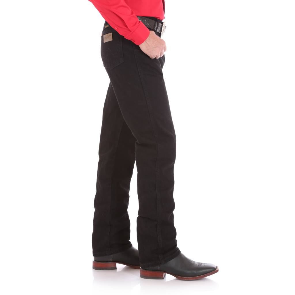 Wrangler Mens Original Fit Black Jeans 13MWZWK