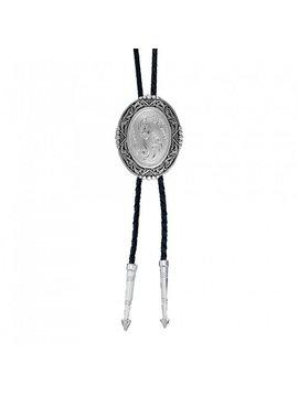 Montana Silversmith BT46 Southwesertern Engraved Bolo Tie