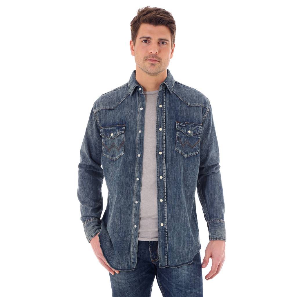 Wrangler MS1039W  Antique Blue