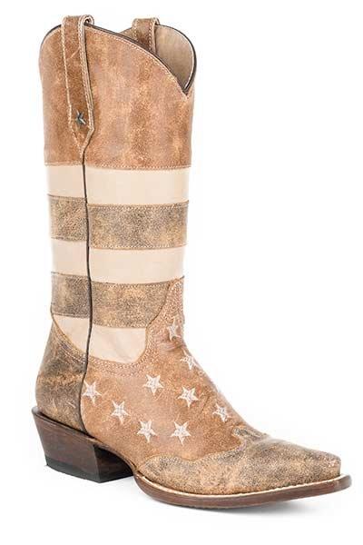 """Roper 'Vintage American Flag""""  09-021-7001-0112BR"""