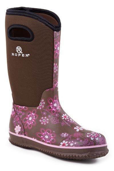 "Roper ""Barnyard Floral""  09-021-1136-0044BR"