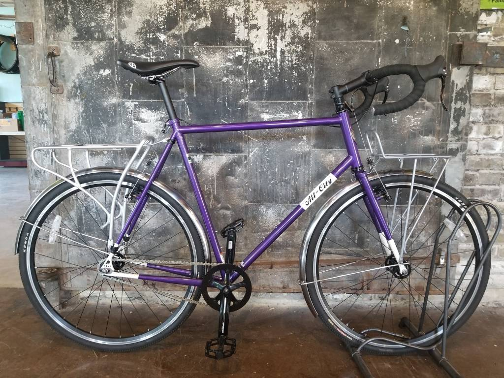 Consignment: All City Nature Boy with Racks 61cm