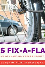 Womens Fix-a-Flat Clinic 5/3/18 6:30p CADENCE MEMBER PRICE