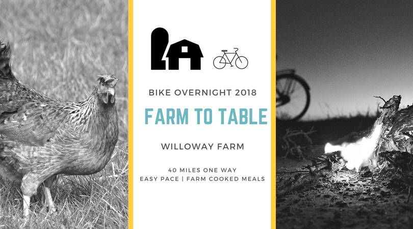 Willoway June 23: Bike Overnight 2018