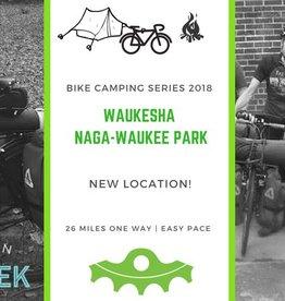 Waukesha Naga-Waukee Park: Bike Camping Series 2018