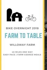 Willoway Aug 25 Bike Overnight 2018
