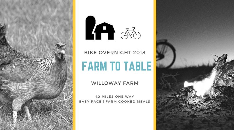 Willoway Aug 25 Bike Overnight 2018
