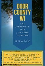 Door County: Bike Overnight 2018