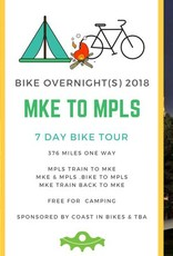 Bike Overnight 2018: MKE to MPLS