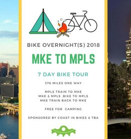 Bike Overnight 2018: MKE to MPLS