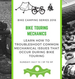 Bike Touring Mechanics- July 15
