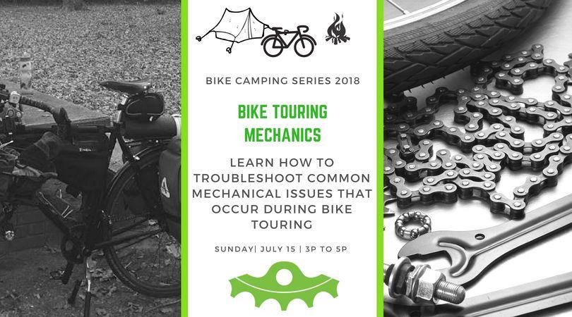 Bike Touring Mechanics- July 15