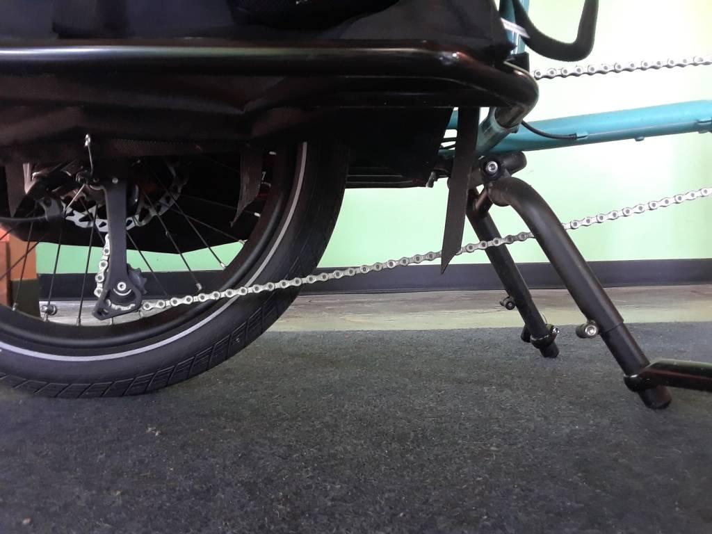 Xtracycle Bosch Zone Blue 10e w/ Kid Accessories