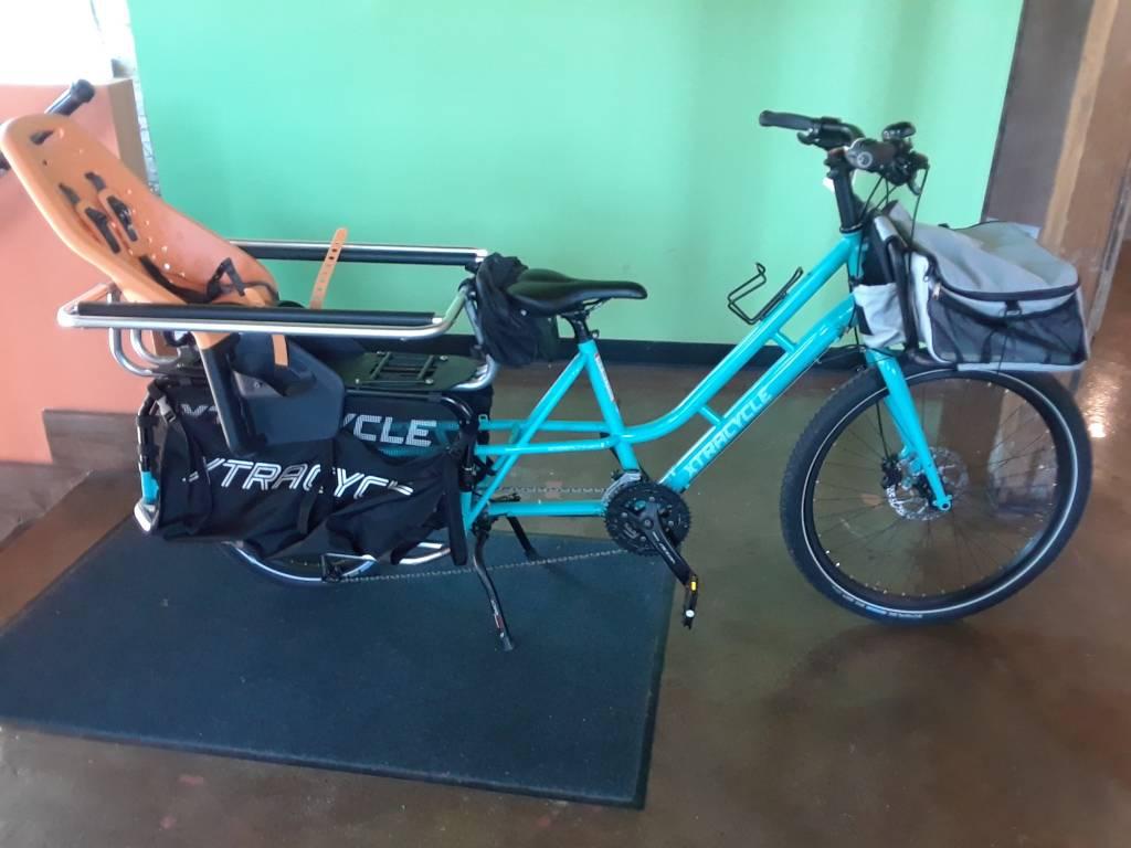 Xtracycle Edgerunner Swoop  Zone Blue 2017