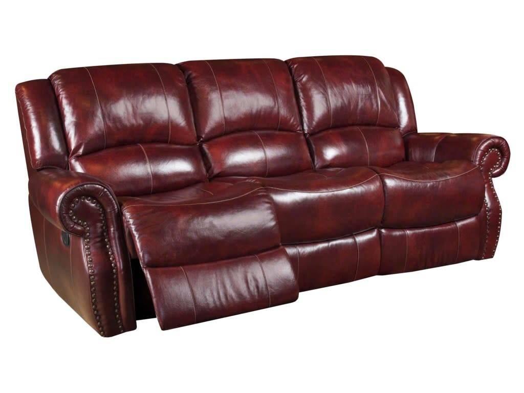 Bon Corinthian Alexander OxBlood Sofa ...