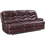 CLS Denali Top Grain Leather Sofa