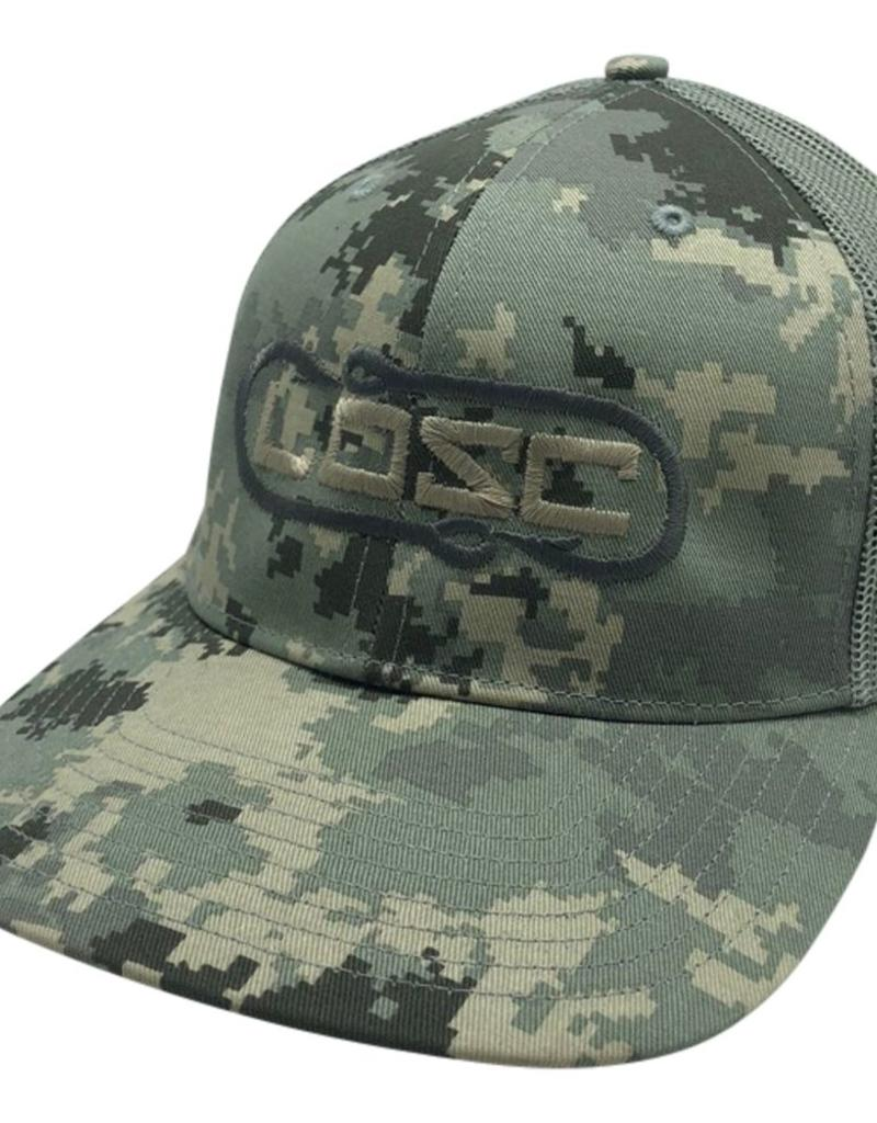 Richardson Hook'D Snapbacks- Double Hook Digital Camo Tan