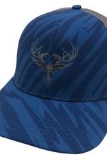 Richardson LOGO Snapbacks Blue Stripe/ Grey Mesh