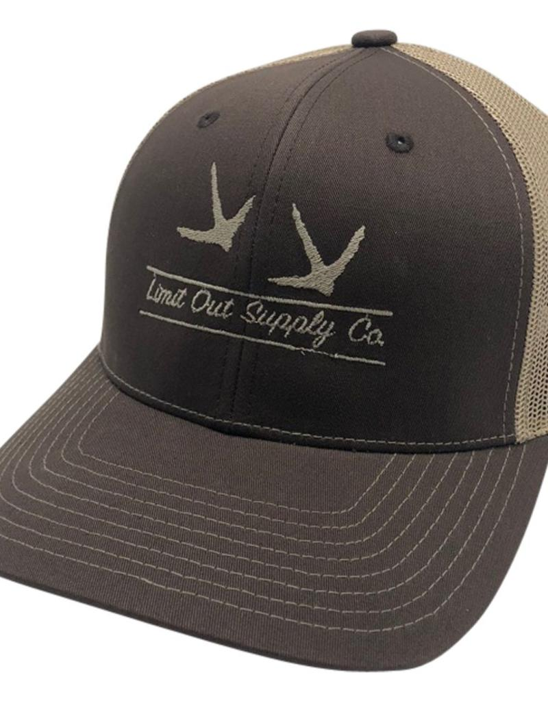 Richardson Turkey Snapbacks Brown/ Tan