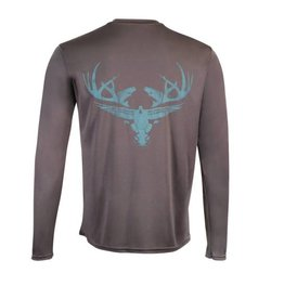 Carbon & Teal Long Sleeve Dri-Fit