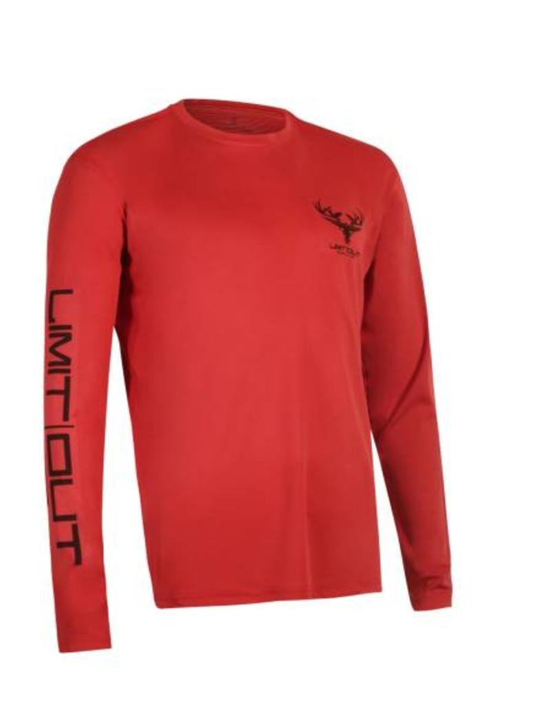 Red Long Sleeve Dri-Fit