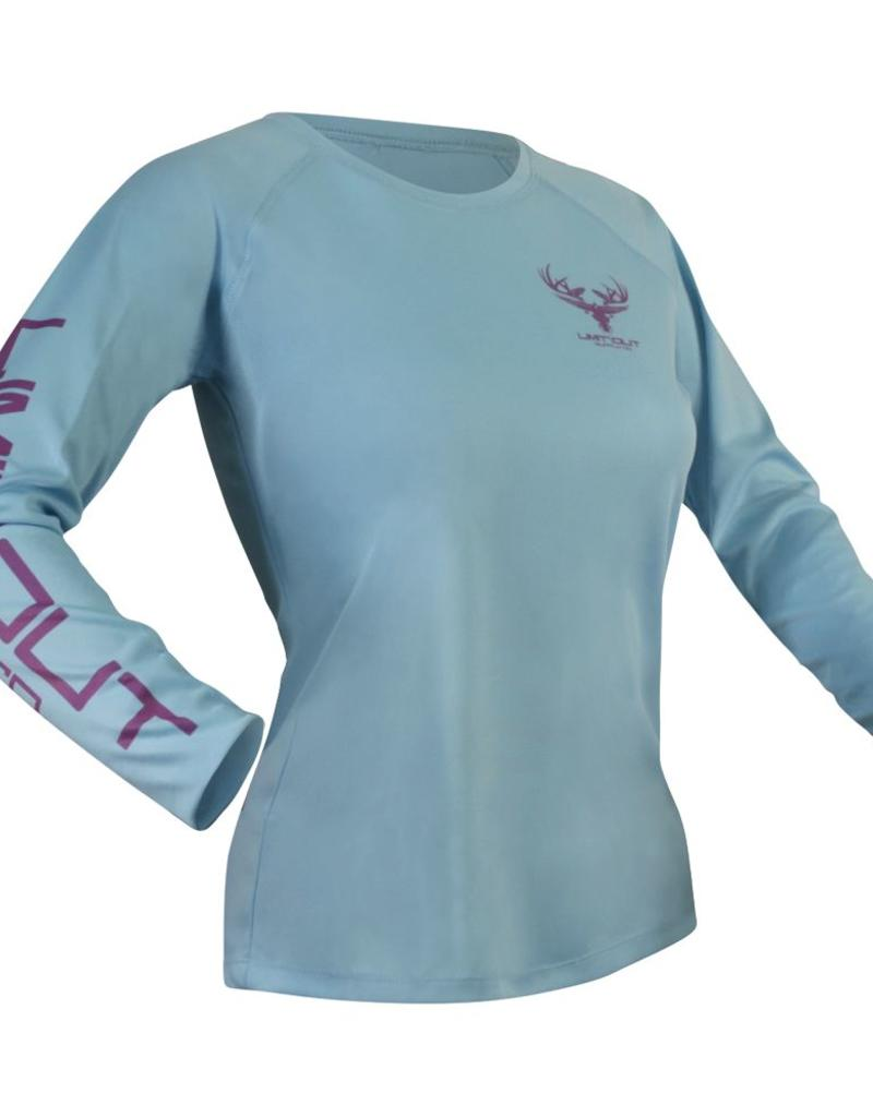 Womens Water Blue Dri-Fit