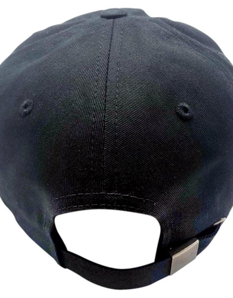 Richardson Cotton Buckle Hat- Black
