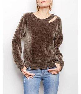 Generation Love Generation Love Leslie Chenille Sweater